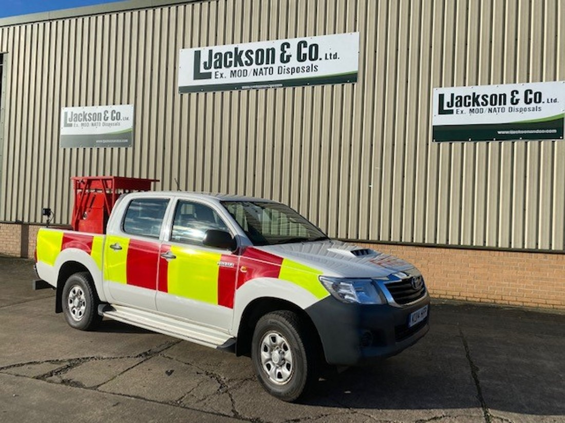 Toyota Hilux Double Cab 4x4 Fire Vehicle