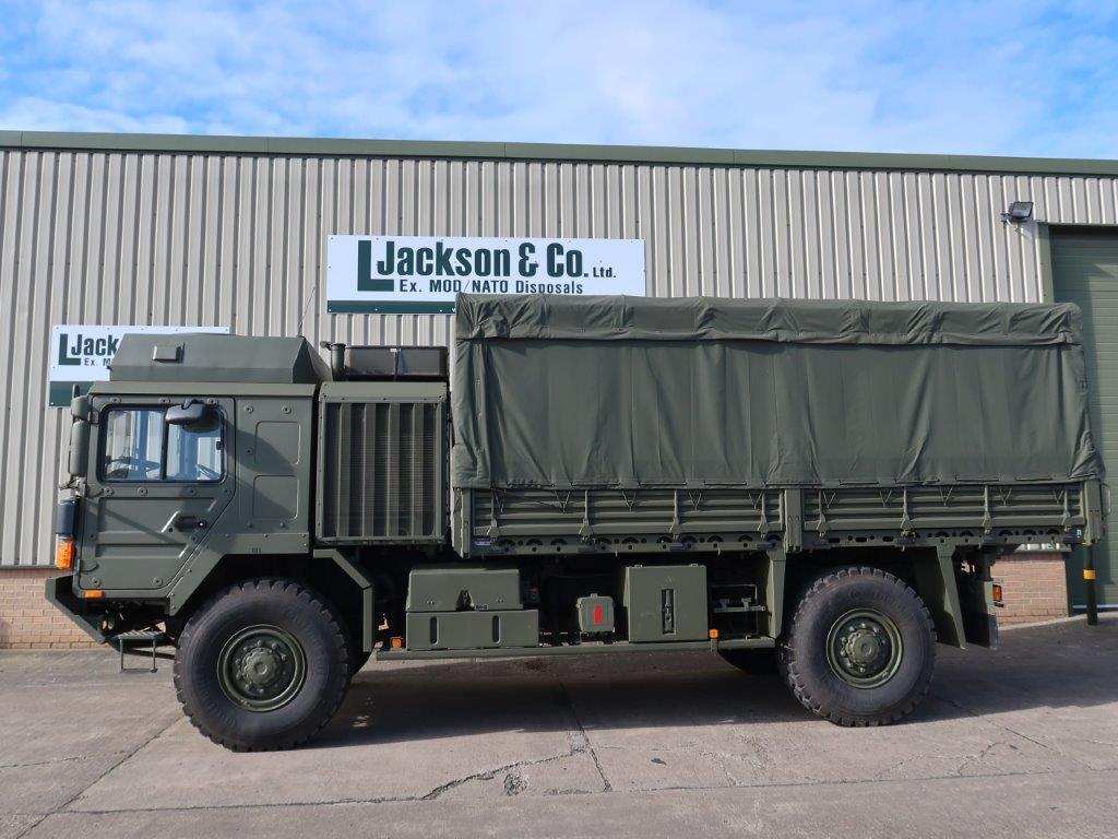 MAN HX60 18.330 4x4 Cargo Winch military Truck for sale
