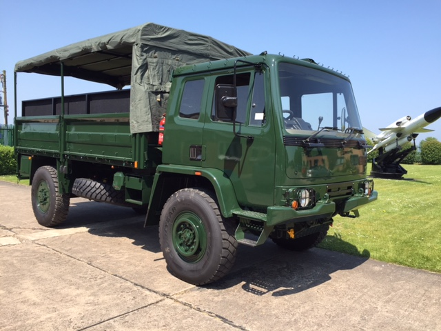 Leyland Daf T45 4x4 Personnel Carrier / shoot vehicle with Canopy & Seats | used military vehicles, MOD surplus for sale
