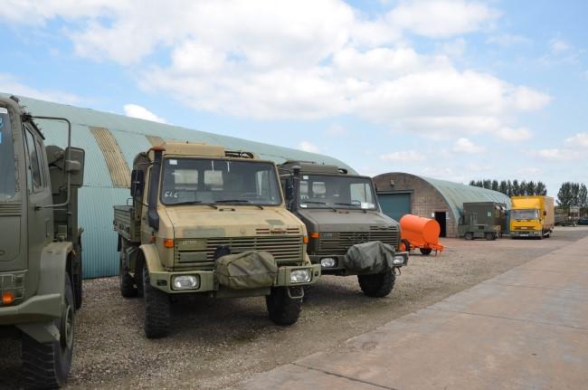Mercedes unimog U1300L PTO winch truck 4x4  military for sale