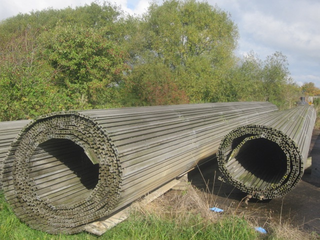 Faun trackway matting 16m x 11m  for sale