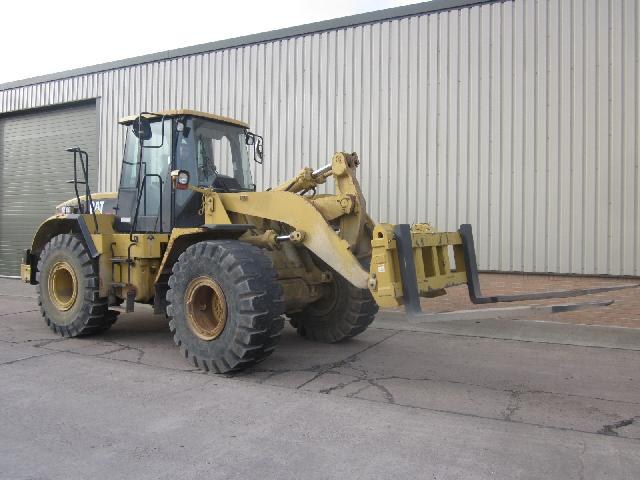 Caterpillar 950 G tool handler  loader | used military vehicles, MOD surplus for sale