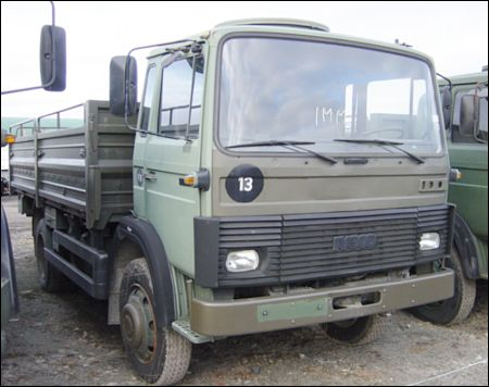 Iveco 110-17A 4x4 Drop Side Cargo Truck | used military vehicles for sale