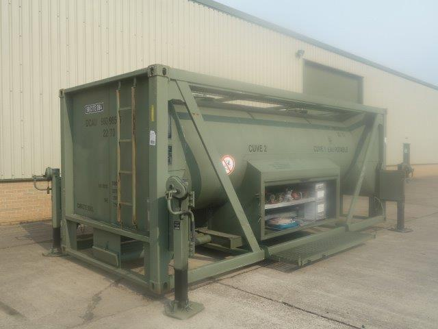 20FT ISO Potable Water Tank Containers for sale | military vehicles