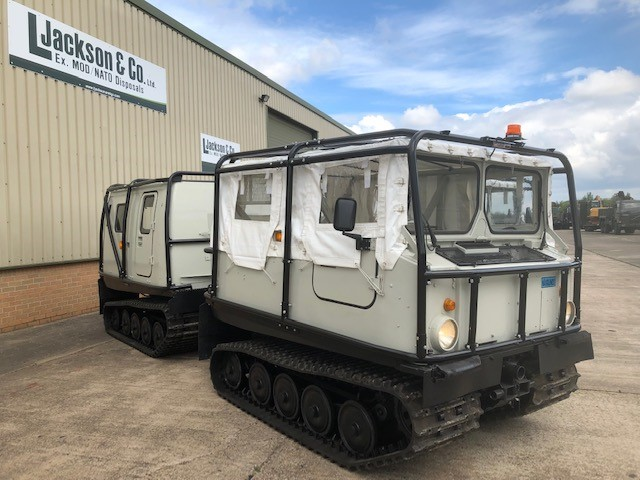 Hagglund Bv206 Soft Top (Front) & Hard Top (Rear) for sale | military vehicles