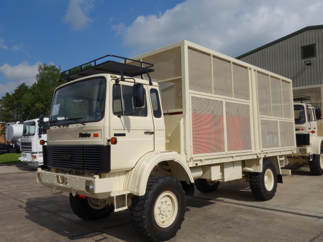 WAS SOLD Iveco 110 - 16 4x4 lube, service truck