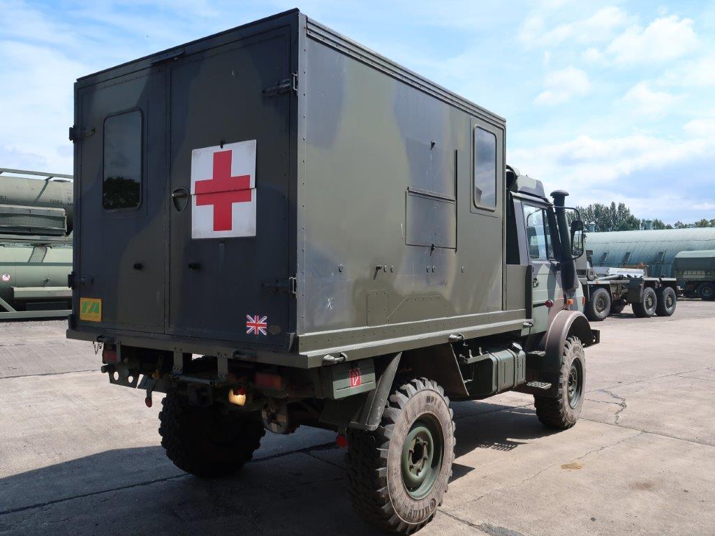 Mercedes Benz Unimog U1300L 4x4 Medical Ambulance for sale