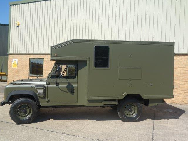 Land Rover 130 Defender Wolf LHD Ambulance  for sale . The UK MOD Direct Sales