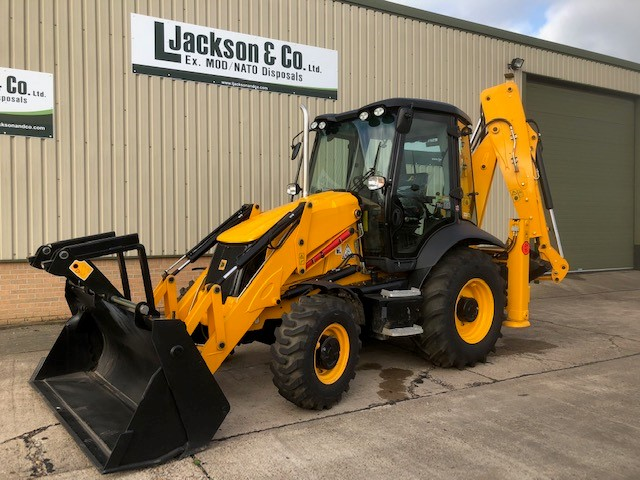 JCB 3CX BackHoe Loader 2017 (unused) | used military vehicles for sale