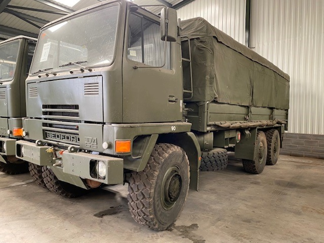 Bedford TM 6x6 Cargo Truck with Canopy   used military vehicles, MOD surplus for sale