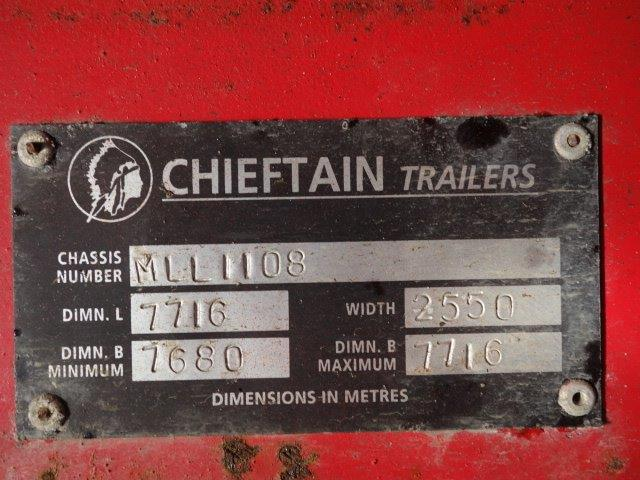 Chieftain Plant Trailer  military for sale