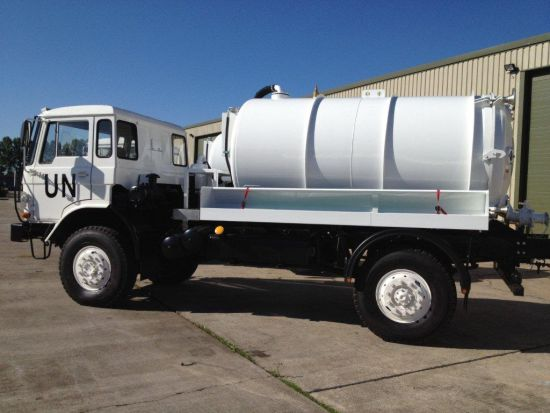 DAF YA4440 4x4 Vacuum Tankers  for sale. The UK MOD Direct Sales