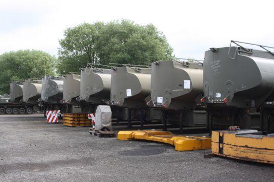 Thompson 32,000 litre  Bulk Fuel  tanker trailer  military for sale