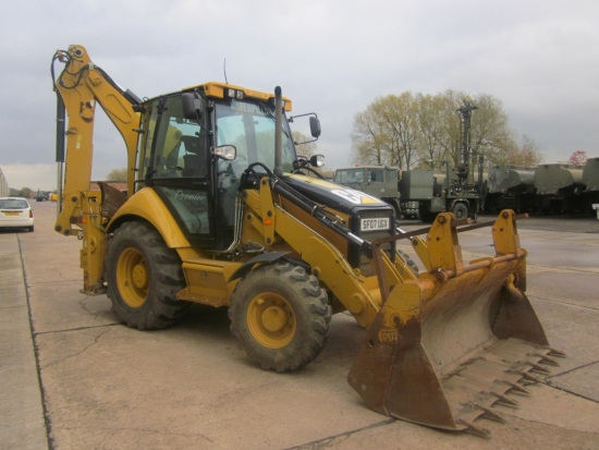 SOLD Caterpillar 442E  Back hoe Wheeled loader | used military vehicles, MOD surplus for sale
