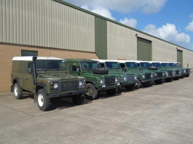 WAS SOLD Land Rover Defender 110 300TDi hard tops