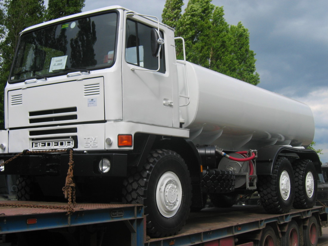 Bedford TM 6x6 14.000 lt tanker truck for sale