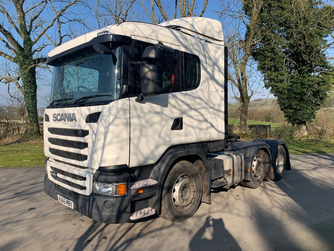 WAS SOLD Scania G450 RHD Tractor unit 2016