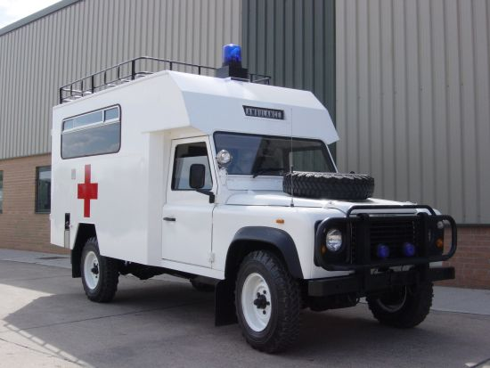 WAS SOLD Land Rover Defender 127 Ambulance