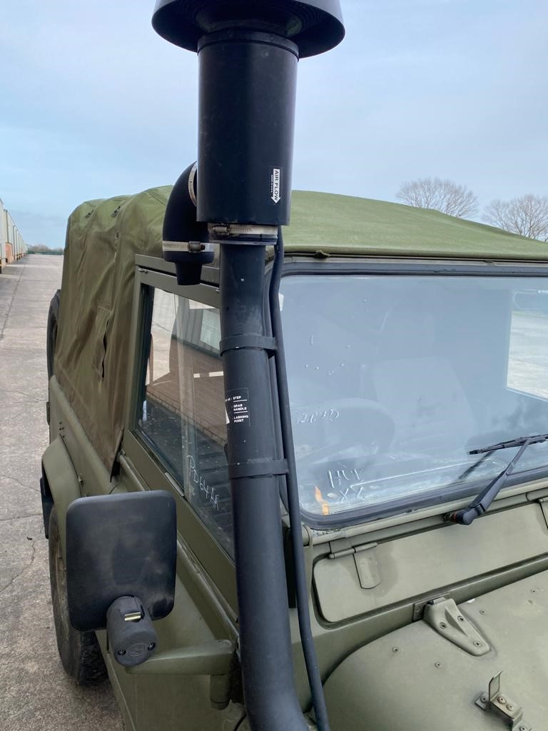 Land Rover Wolf 90 Soft Top Winterised/Waterproof  military for sale