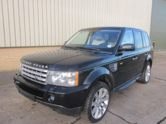SOLD Range rover sport supercharged | used military vehicles, MOD surplus for sale
