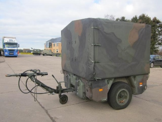 Karcher TFK 250 army mobile field kitchen trailer |  EX.MOD direct sales
