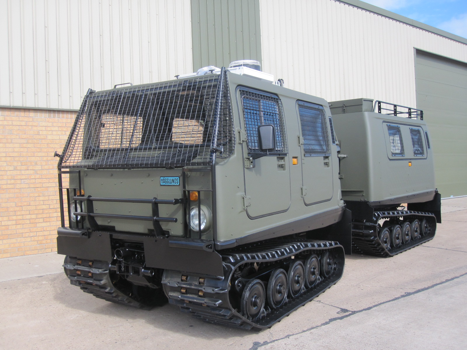 Hagglund BV206 Personnel Carrier (Petrol/Gasolene) | Military Land Rovers 90, 110,130, Range Rovers, Mercedes for Sale