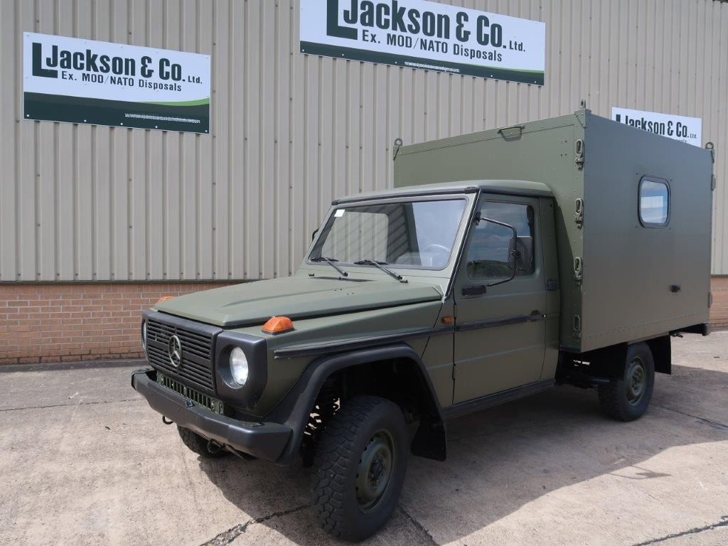 Mercedes GD250 G Wagon 4x4 Box Vehicle