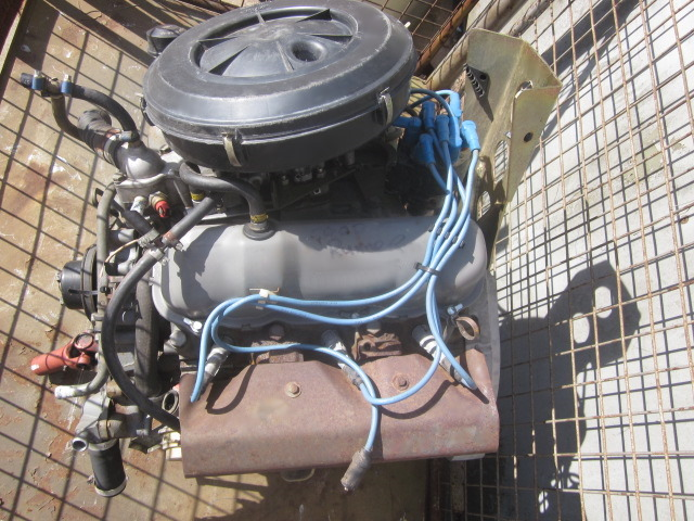 Used  FORD Petrol  V6  engine 2.8 lt as fitted to Hagglund BV206 for sale