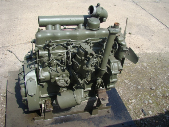 SOLD Reconditioned Cummins NT380 Mk Engine | used military vehicles, MOD surplus for sale