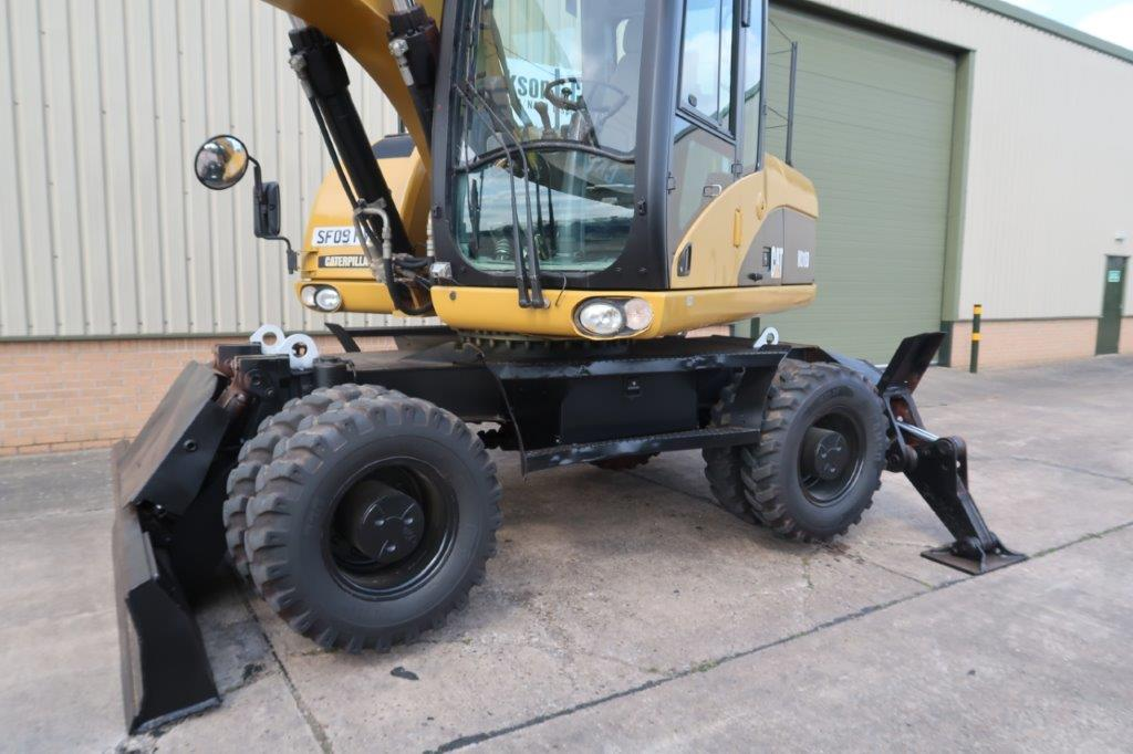 Caterpillar 318D Wheeled Excavator | used military vehicles, MOD surplus for sale