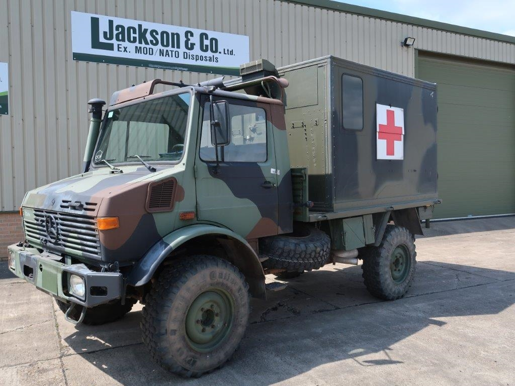 Mercedes Benz Unimog U1300L 4x4 Medical Ambulance price