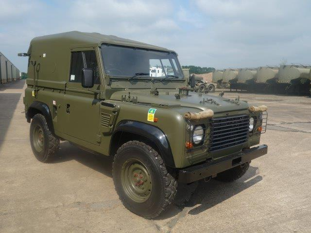 Land Rover Defender 90 Wolf Hard Top (Remus  for sale. The UK MOD Direct Sales