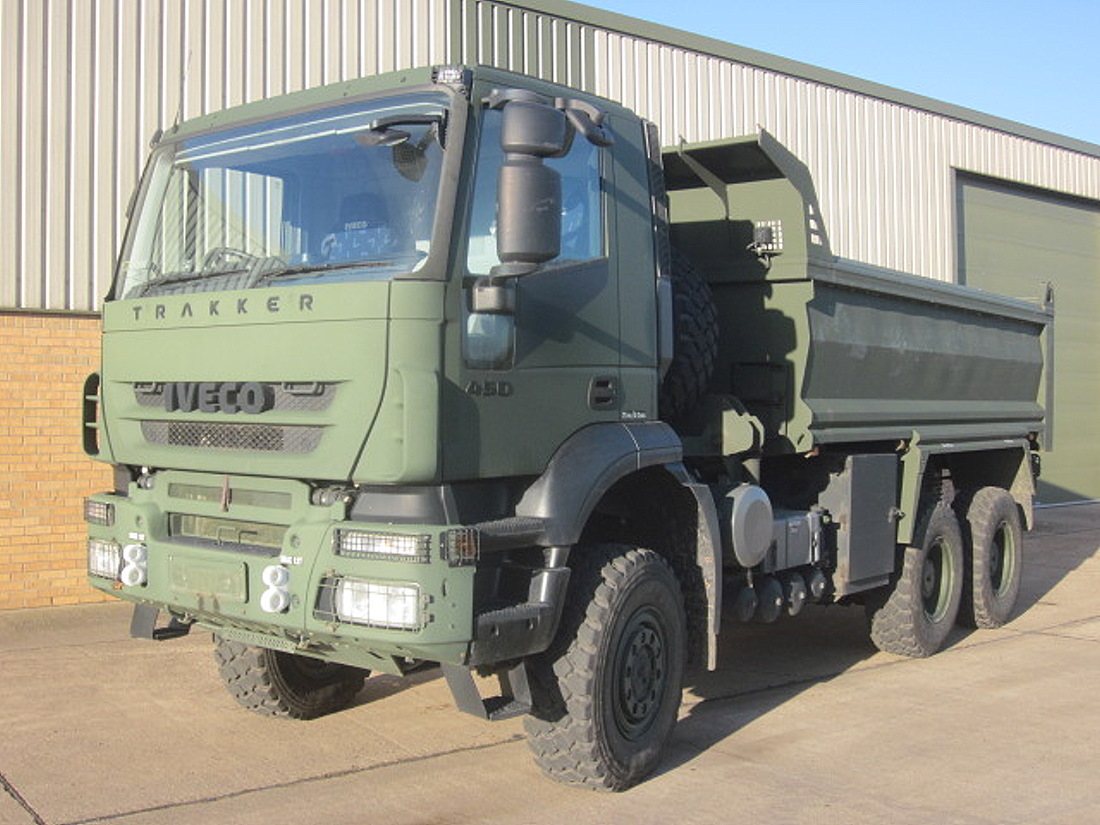 Iveco trakker 6x6 RHD tippers truck