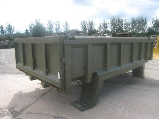 Roelof Heavy Duty Steel Rock Bodies  for sale . The UK MOD Direct Sales