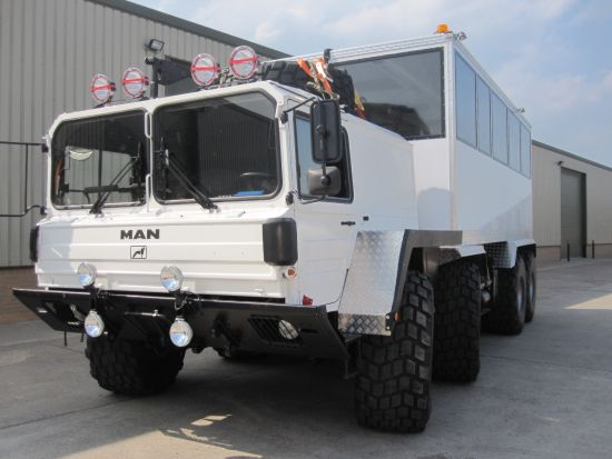 MAN 8x8 off-road Personnel Carrier / Tour or Safari Vehicle Ex military vehicles for sale, Mod Sales, M.A.N military trucks 4x4, 6x6, 8x8