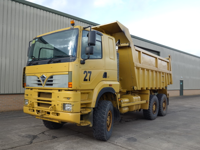 Foden 6x6 dump truck | used military vehicles for sale