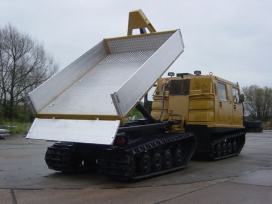 Hagglunds BV206 dumper multilift | used military vehicles for sale