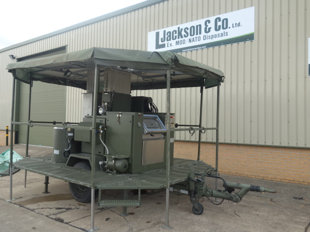 SERT RLS2000 Field Laundry Trailers |  EX.MOD direct sales