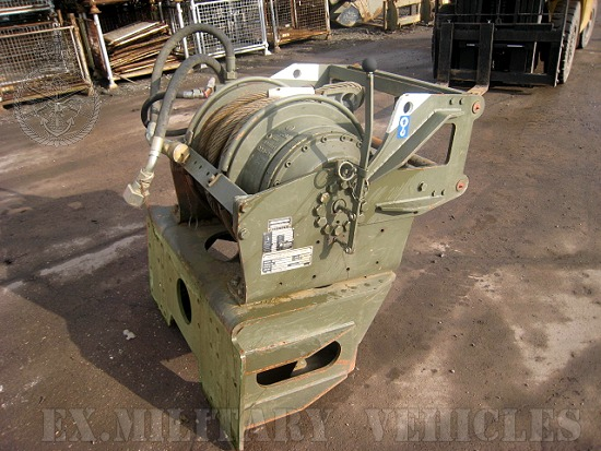 SOLD Rotzler 25 ton hydraulic winch | used military vehicles, MOD surplus for sale