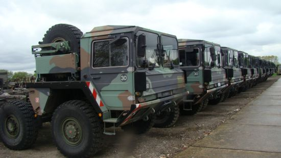 Used ex army truck for sale Africa and the Middle East