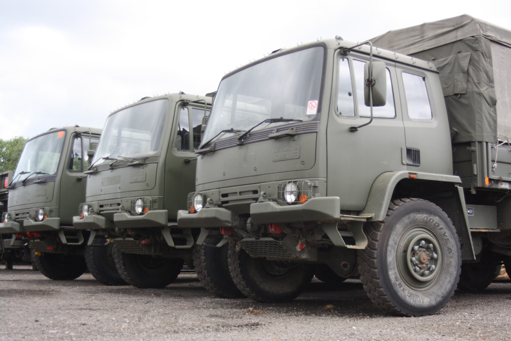 Leyland DAF 45.150  4x4 Military chassis Truck | used military vehicles, MOD surplus for sale