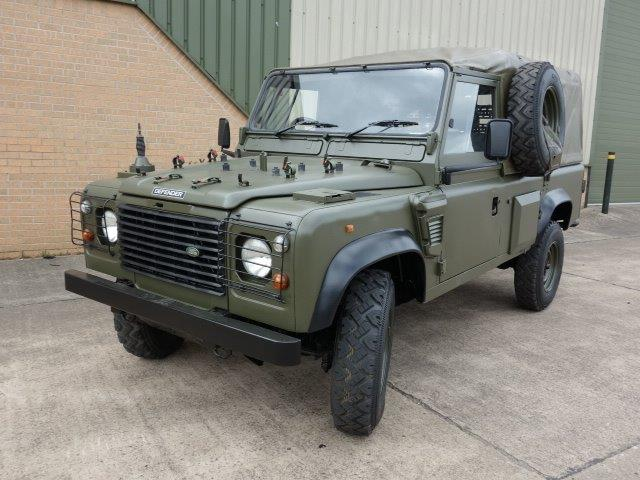 Land Rover 110 Defender Wolf Soft Top (Remus) for sale, Mod Sales Ex | military vehicles