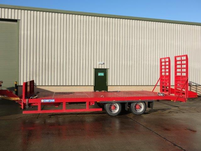 Chieftain Plant Trailer  for sale. The UK MOD Direct Sales