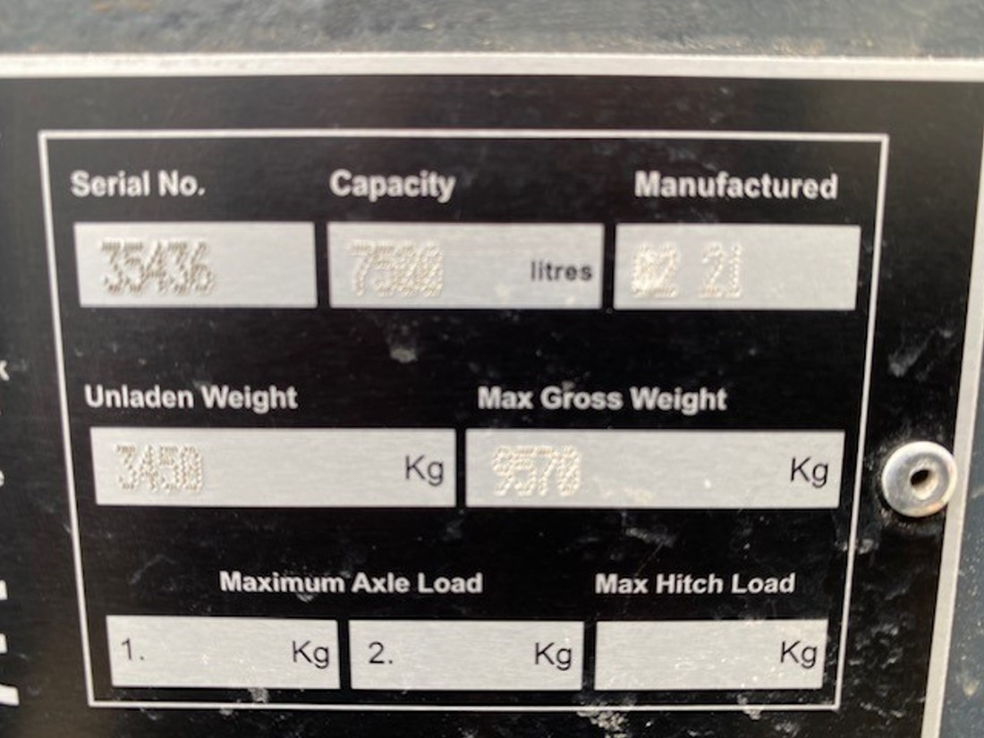 Unused MAN 4x4 7500 Litre Bunded Fuel Tanker | used military vehicles, MOD surplus for sale