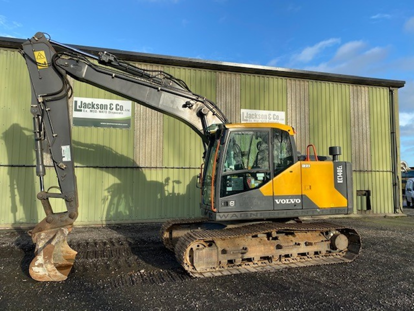Volvo EC140 EL Excavator 2017 for sale