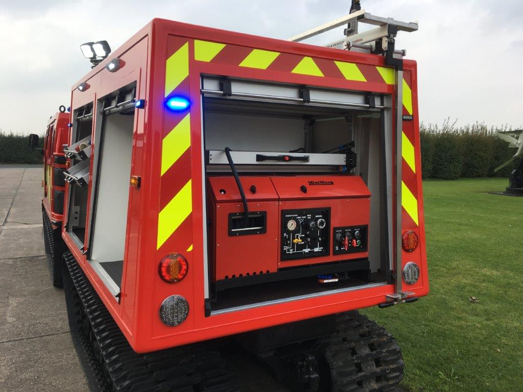 Hagglund BV206 ATV Fire Engine (Fire Chief) | used military vehicles, MOD surplus for sale