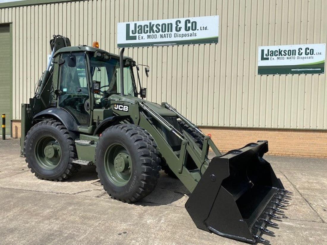 JCB 4CX Sitemaster Backhoe Loader  military for sale