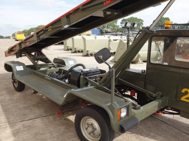 AMSS Self Propelled 9 Metre Belt Loader - | used military vehicles, MOD surplus for sale