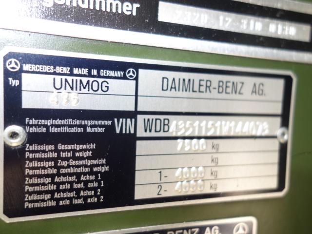 Mercedes Unimog U1300L Cargo Trucks with A/c  military for sale
