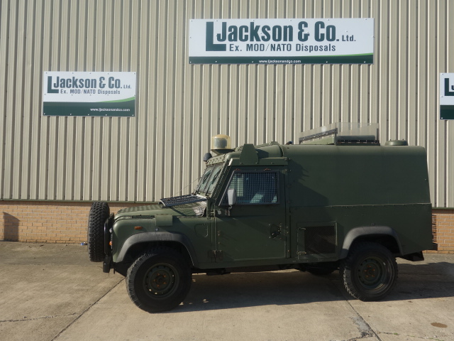 Land Rover Snatch 2A Armoured Defender 110 300TDi |  EX.MOD direct sales
